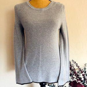 {Vince Camuto} Grey Crew Sweater {Petite M}